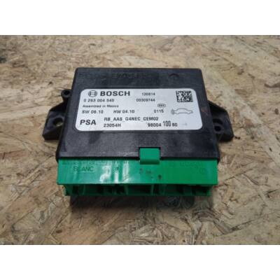 Citroen / Peugeot BOSCH Tolatóradar elektronika