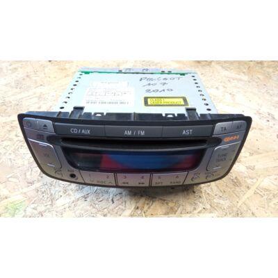 Citroen C1 I / Peugeot 107 Panasonic CD Rádió